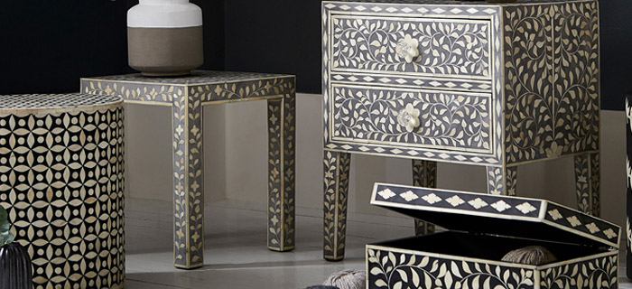 Bone Inlay Handcraft exporter in india