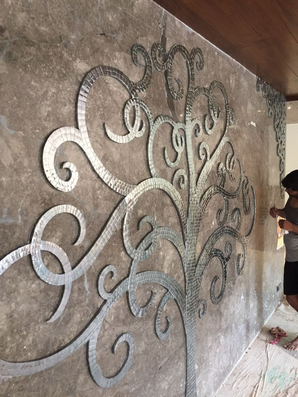Glass Inlay Tree work in india (3)