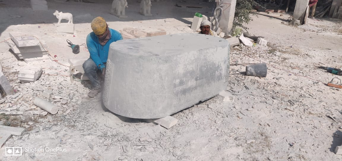 Green Marble Tub - exporter in india (1)